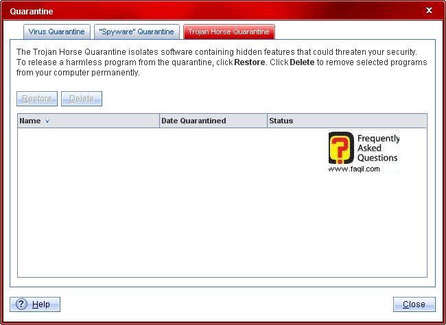 רשימת הסגר טרויאנים,Trend Micro Internet Security 2010
