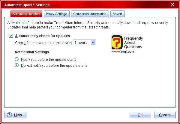 כל כמן זמן יתעדכן,Trend Micro Internet Security 2010