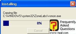 ההתקנה מתכוונת להתחיל,מרכז האבטחה של צ'ק פוינט-ZoneAlarm Security Suite